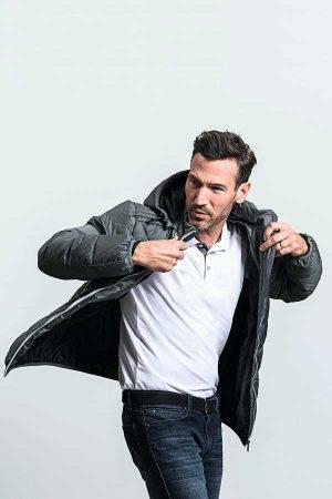 Prehodna jakna Russell Men's Hooded Nano Jacket