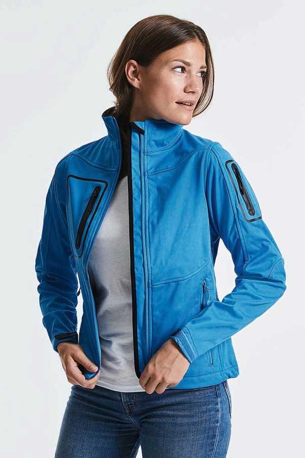 Ženski softshell Russell Ladies' Sportshell 5000 Jacket