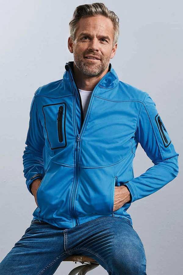 Softshell Russell Men's Sportshell 5000 Jacket