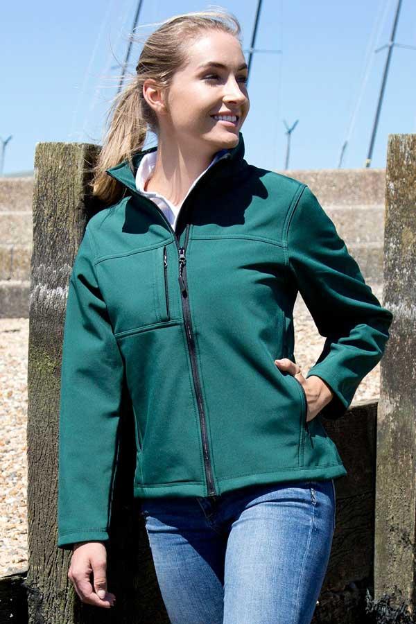 Ženski softshell Result Ladies Classic Softshell Jacket