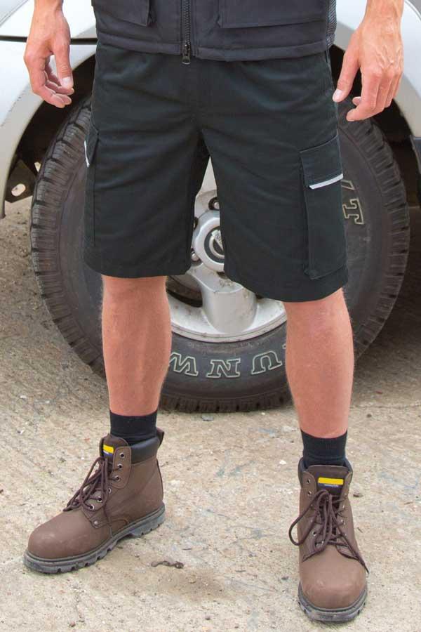 Delovne kratke hlače Result Action Shorts
