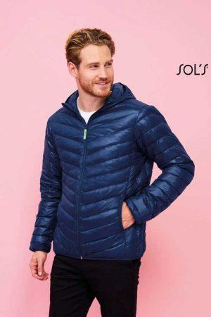 Prehodna jakna Sol's Ray Men – Light Hooded Down Jacket