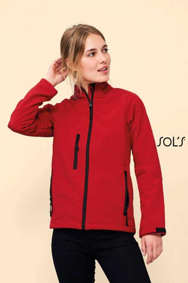 Ženski softshell Sol's Roxy – Women's Softshell Zipped Jacket