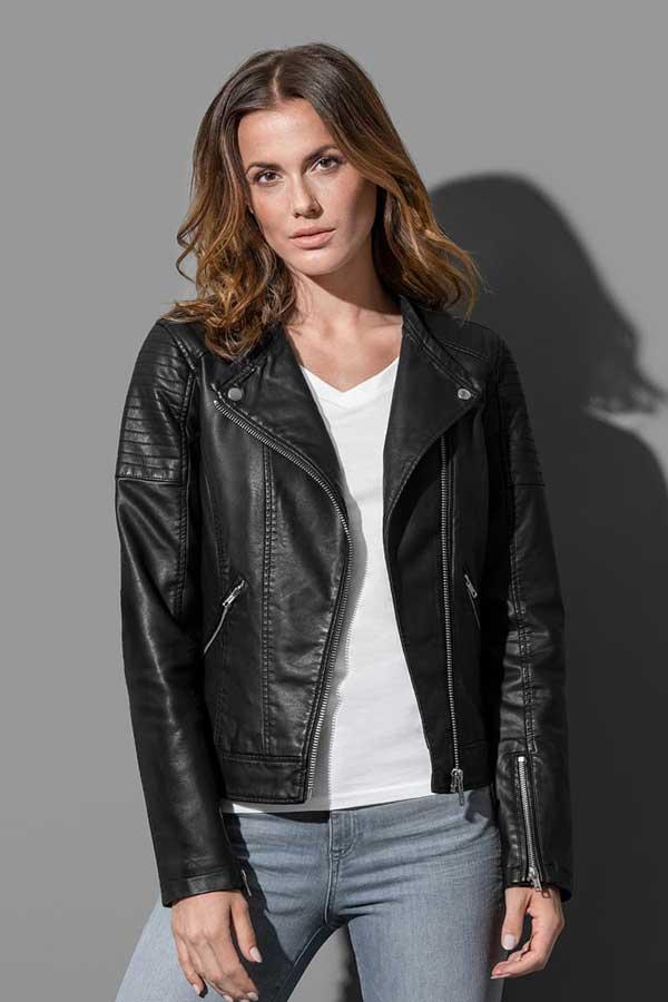 Ženska prehodna jakna Stedman Biker Jacket Women