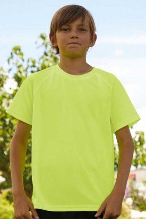 Otroška športna majica kratek rokav FOTL Performance