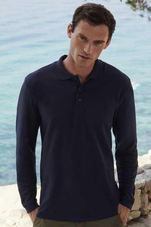 Polo majica dolg rokav FOTL Premium Long Sleeve Polo