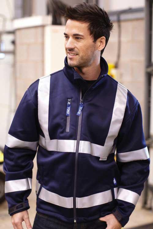 Visokovidna jakna Yoko Fluo Softshell Jacket