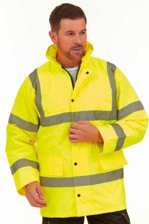 Visokovidna jakna Yoko Fluo Classic Motorway Jacket