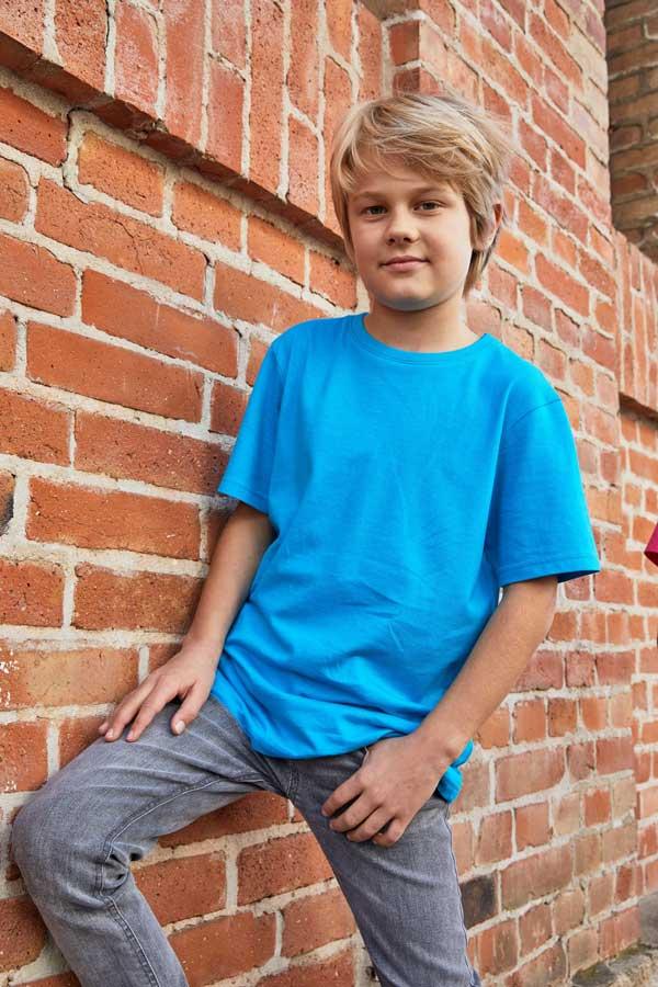 Otroška majica kratek rokav J&N Promo-T Boy 150