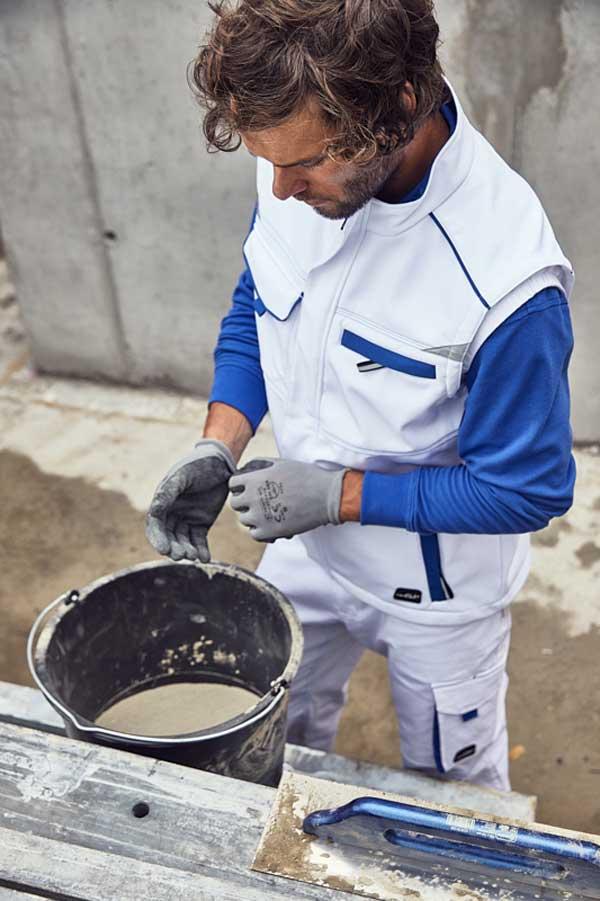 Delovni telovnik J&N Workwear Softshell Vest - COLOR