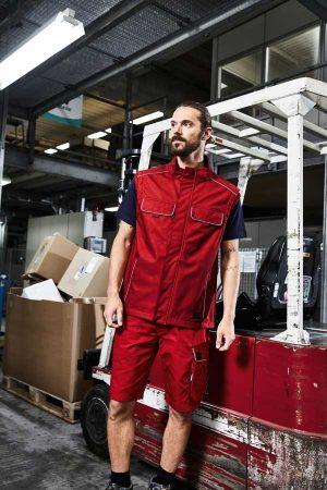 Delovni telovnik J&N Workwear Softshell Light Vest - SOLID
