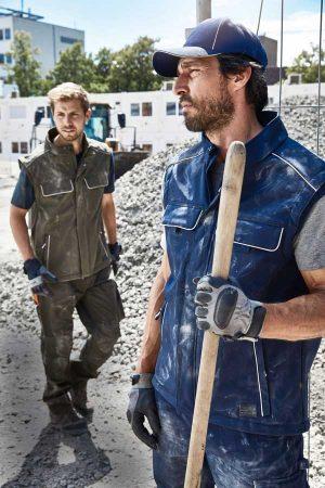 Delovni telovnik J&N Workwear Softshell Vest - SOLID