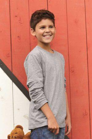 Otroška majica dolg rokav J&N Junior Shirt Long-Sleeved Medium