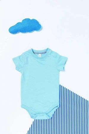 Bodi za dojenčka Kariban Babies' Short-Sleeved Bodysuit