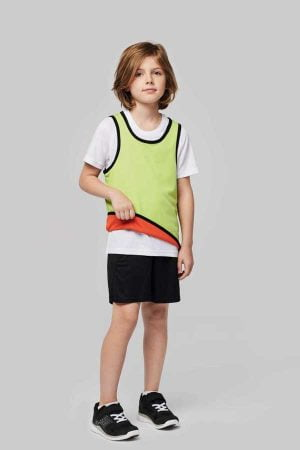 Otroška športna markirka Proact Kid's Reversible Rugby Bib