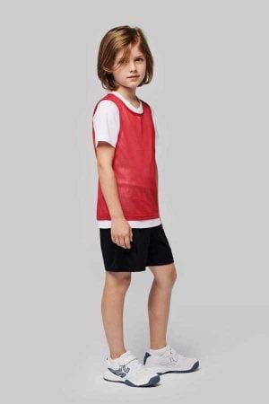 Otroška športna markirka Proact Kid's Lightweight Mesh Multisport Bib