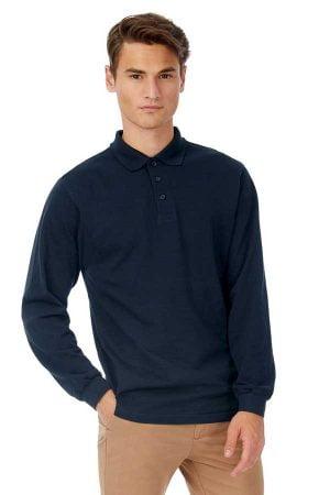 Polo majica dolg rokav B&C Safran LSL Polo