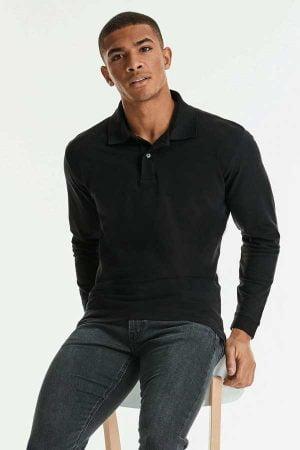 Polo majica dolg rokav Russell Long Sleeve Classic Cotton Polo