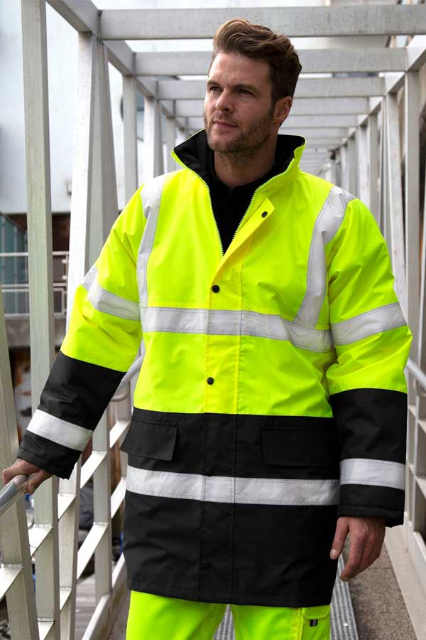 Visokovidna jakna Result Core Motorway 2-Tone Safety Coat