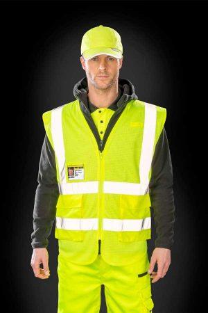 Varnostni telovnik Result Executive Cool Mesh Safety Vest