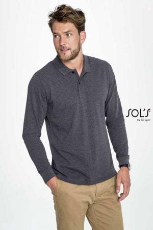 Polo majica dolg rokav Sol's Perfect LSL Men Long-Sleeve Polo Shirt