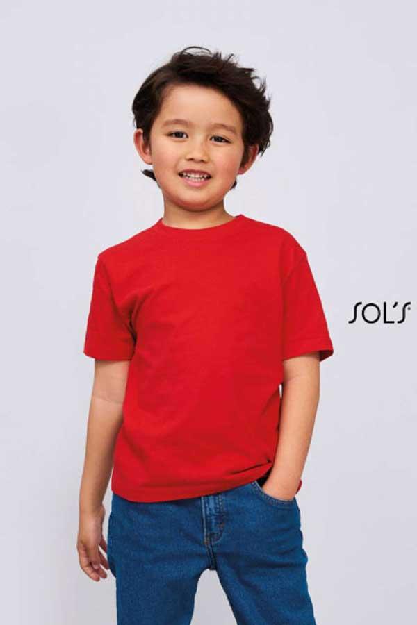 Otroška majica kratek rokav Sol's Imperial Kids - Round Neck T-Shirt