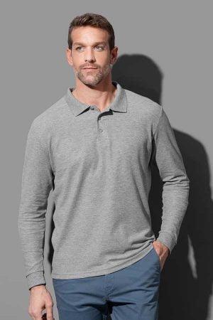 Polo majica dolg rokav Stedman Polo Long Sleeve