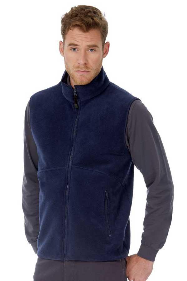 Telovnik iz flisa B&C Traveller+ Bodywarmer Fleece