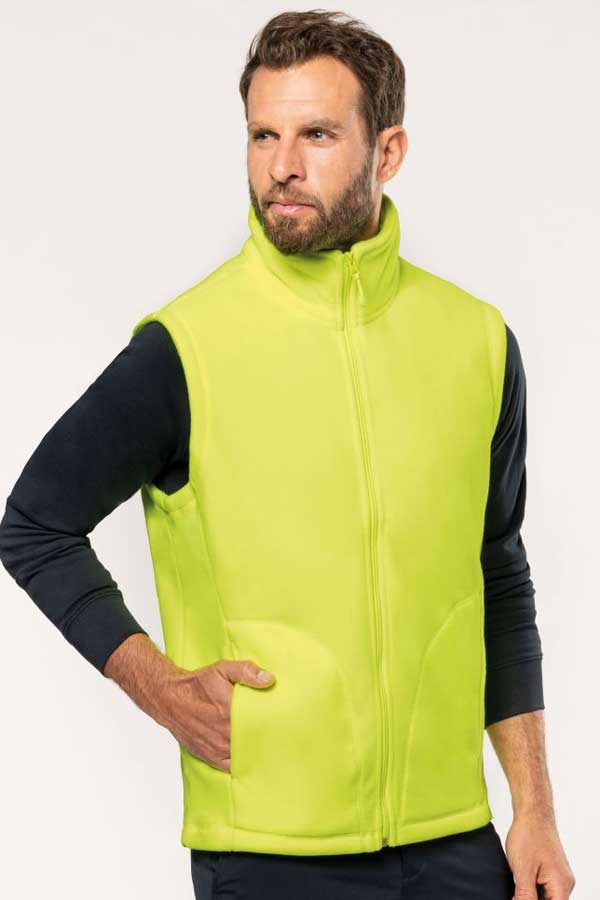 Telovnik iz flisa Kariban Luca – Men's Micro Fleece Gilet