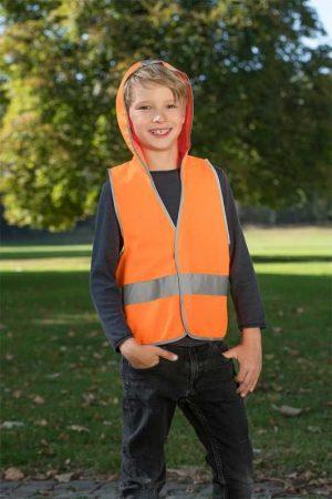 Otroški varnostni telovnik Korntex Kid's Vest with Hood