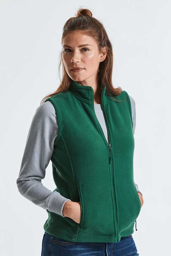 Ženski telovnik iz flisa Russell Ladies' Gilet Outdoor Fleece
